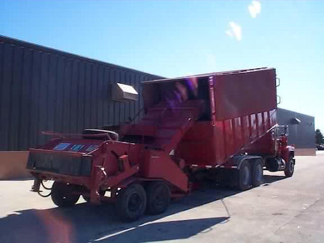 Truck with Mobile Chipper