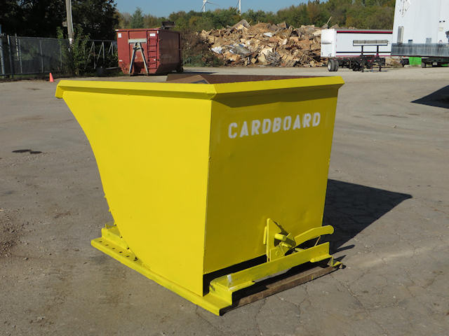 Roll-Off Container (yellow)